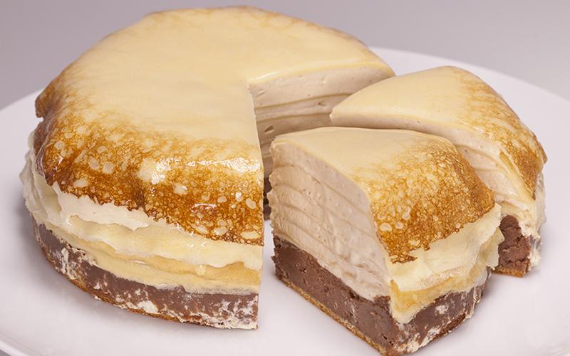 ミルクチョコとヘーゼルのミルフロマージュの画像