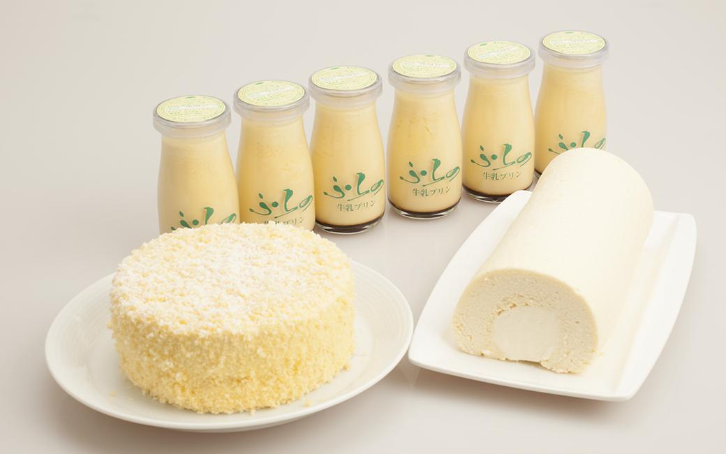 ふらの牛乳プリンセット-B-画像