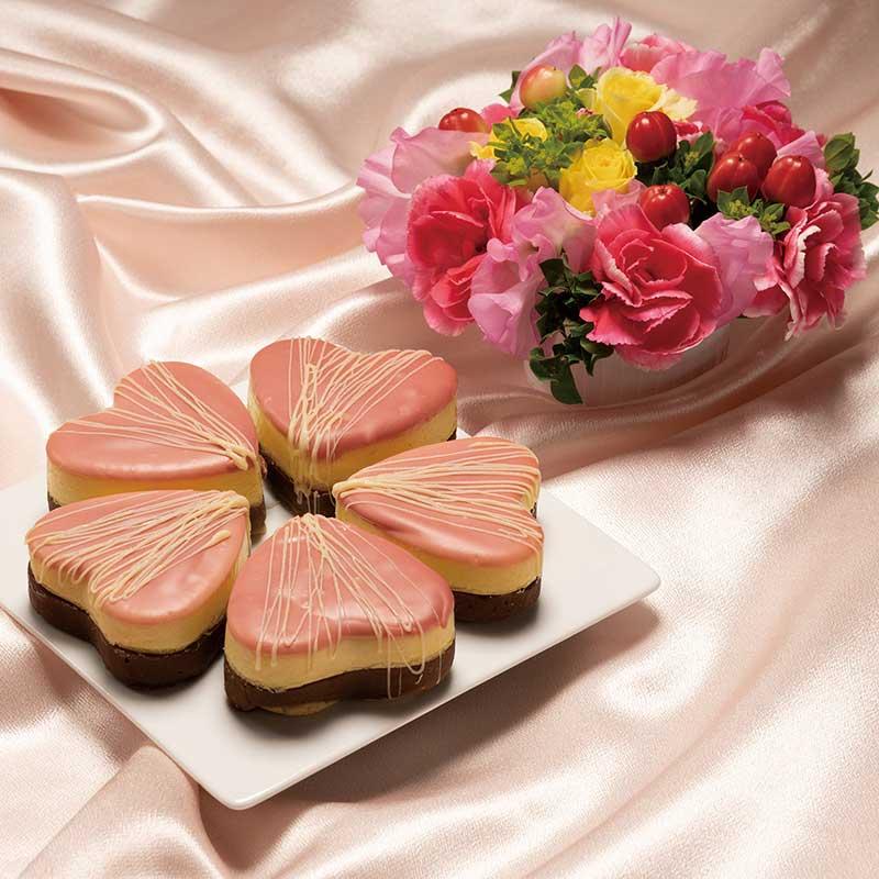 お花とフルールフロマージュ画像