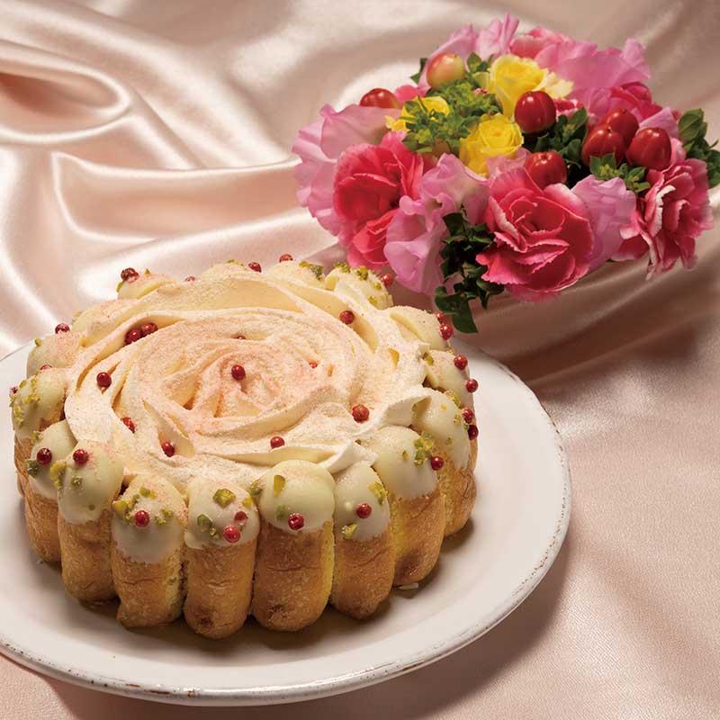 お花とベリーカーネーション画像