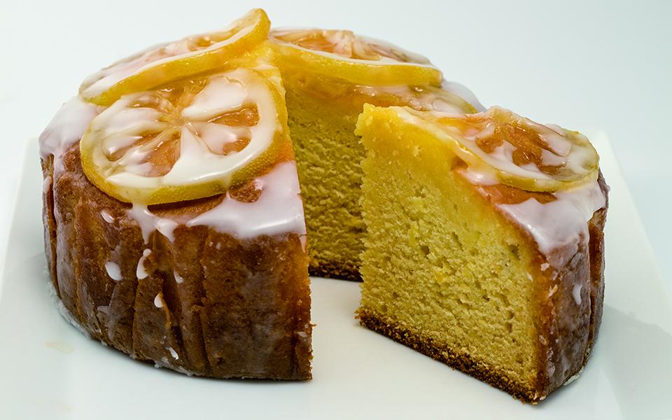 レモンバターケーキ画像