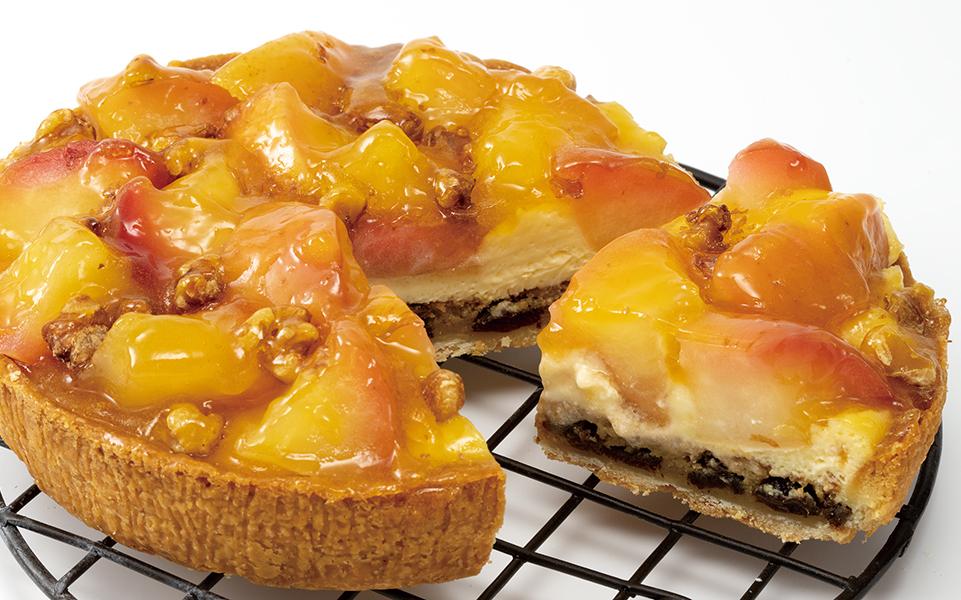 ゴロゴロりんごのチーズタルト画像