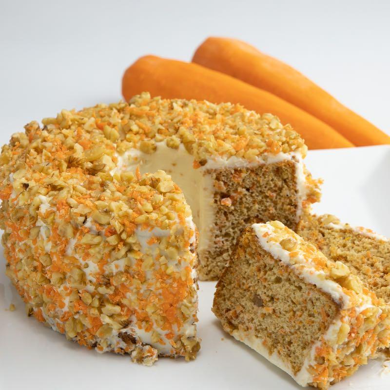キャロットシフォンケーキの画像