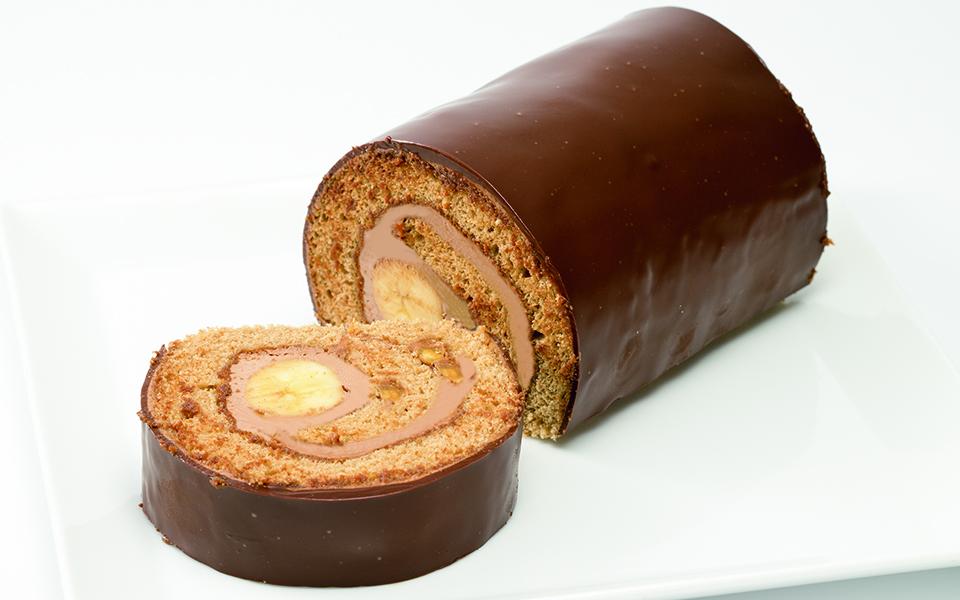 まるごとチョコバナナロール画像
