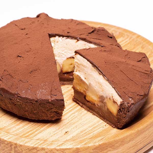 キャラメルショコラのバナナパイの画像